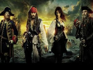 Pirates of the Caribbean 4, main characters