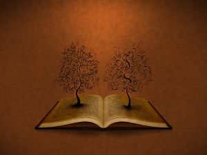 Trees of letters