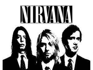"Nirvana, ""grunge"" band"