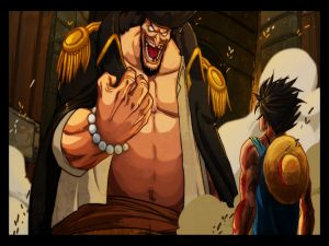 Luffy vs Kurohige (One Piece)