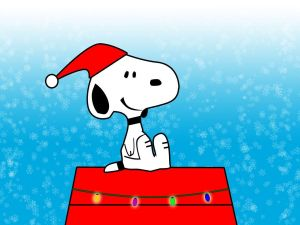 Christmas with Snoopy