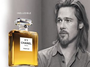 Chanel Nº5 and Brad Pitt