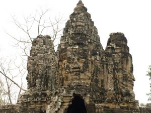 Monument of Angkor in Camboya
