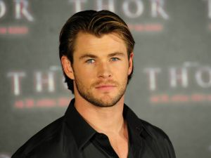 Chris Hemsworth at the premiere of Thor