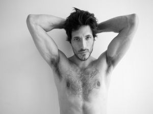 The body of Andres Velencoso