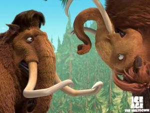 "Mammoths in ""Ice Age 2"""