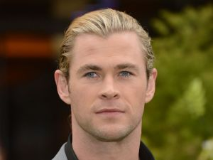 Chris Hemsworth very handsome