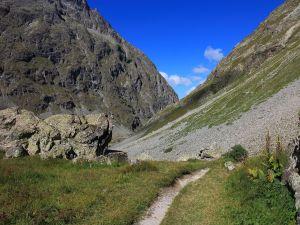 """Road to """"Les Sources de la Romanche"""""""
