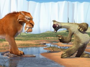 Diego and Sid (Ice Age)