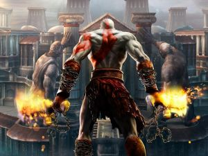 "Kratos ""God of War"""