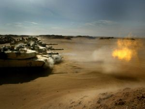 Tanks in Iraq