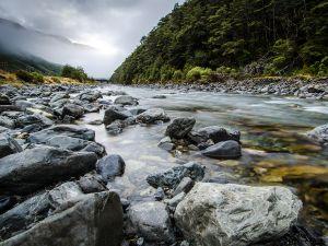 Bealey River, New Zealand