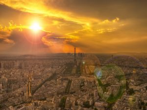 Paris at sunrise