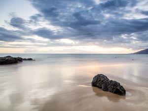 Calm beach