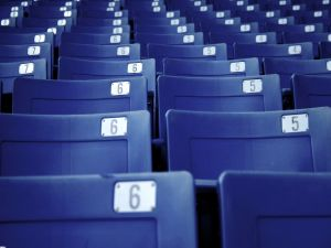 Numbered seats