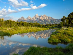 Teton Range, Wyoming, USA