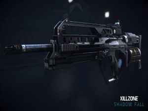 "Gun ""Killzone Shadow Fall"""