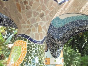 Mosaics in some columns