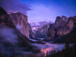 Fog in Yosemite National Park