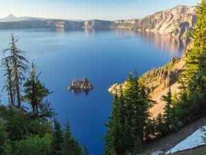 The stillness of a lake