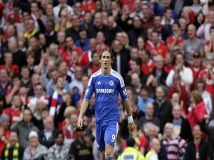 Fernando Torres, stiker for Chelsea F.C.