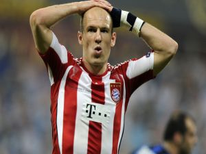 Arjen Robben as midfielder for Bayern Munich
