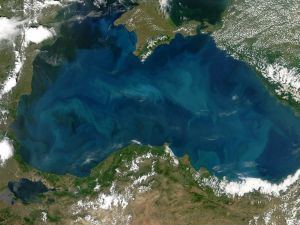 The Black Sea from space