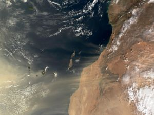 The Canary Islands seen from space