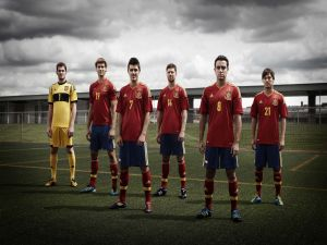 Players of the Spanish National Team