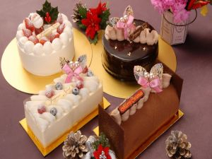 Sweets and cakes for Christmas