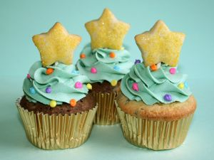 Cupcakes with a star