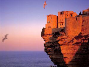 Fortress at Bonifacio (Corsica, France)
