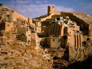 The Mar Saba Monastery