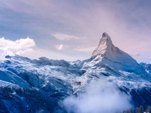 Great peak of a mountain