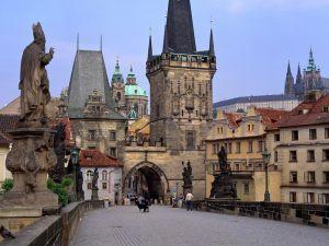 A street of Prague