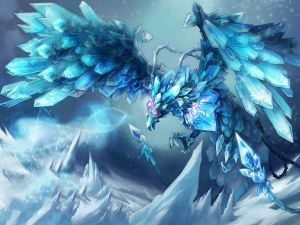 "Anivia, The Cryophoenix ""League of Legends"""