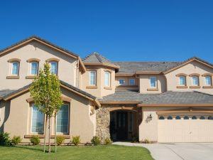 American house facade
