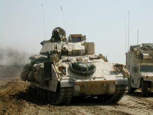 U.S. tanks in Iraq