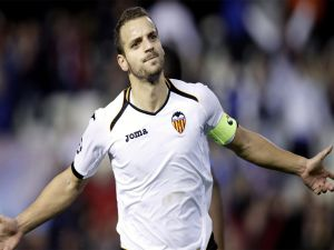 Roberto Soldado, player of Valencia C.F.
