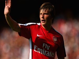 Andréi Arshavin with Arsenal F.C.