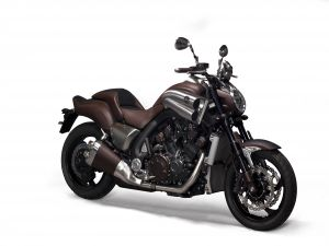 Yamaha VMax, leather coated