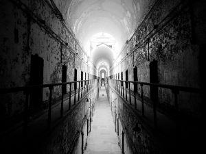 Corridor of a prison