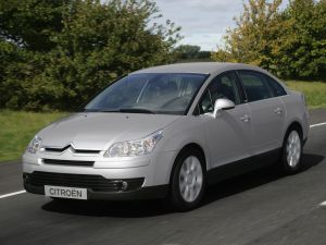 Citroen C4 on the road