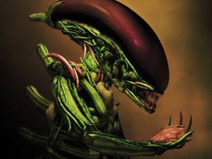 Alien of vegetable