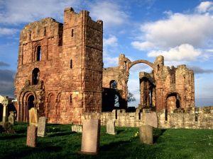 Lindisfarne monastery ruins