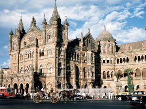 Chhatrapati Shivaji Terminus railway station (Mumbai, India)