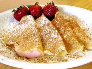 Crepes filled