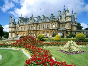 Waddesdon Manor, country house in the village of Waddesdon (England)