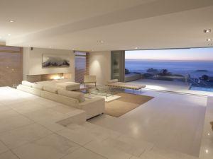 Design of a modern beach house