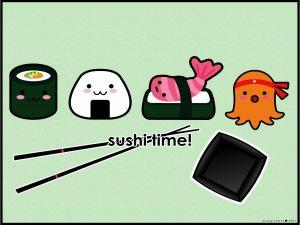 Shushi time!
